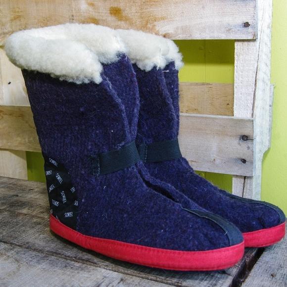 Sorel Boot Liners >> Sorel Wool Felt Boot Liners
